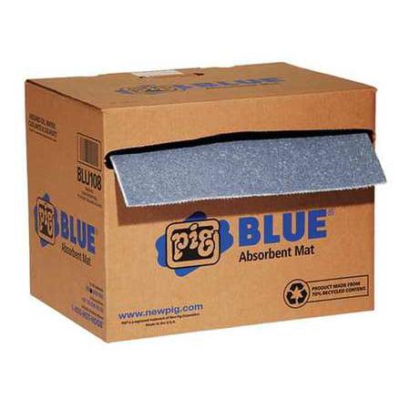 Pig Absorbent Pads (NEW PIG Absorbent Roll,Universal,Light Blue)