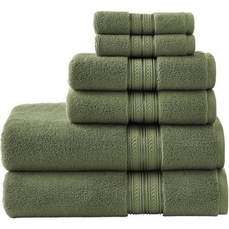 Better Homes and Gardens Thick and Plush Solid Bath Towel (Solid Brass Bath)