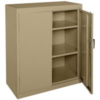 "Classic Series 36""W x 42""H x 18""D Counter Height Storage Cabinet with Adjustable Shelves"