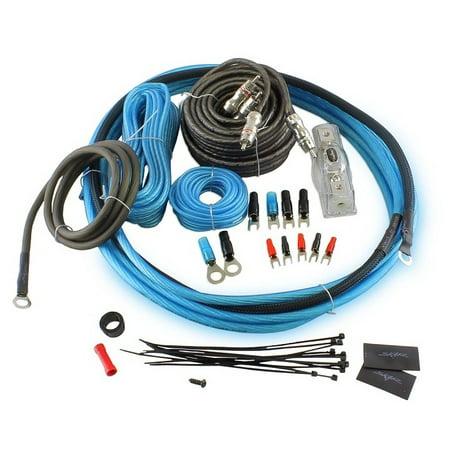 Skar Audio 8 Gauge Complete Car Amplifier Wiring Install Kit Oxygen