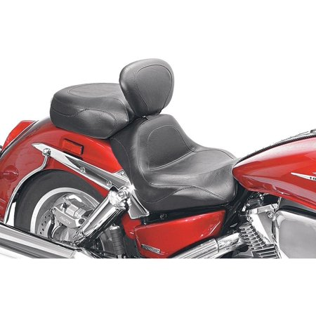Mustang 79291 Sport Touring Two-Piece Seat with Driver Backrest - Vintage