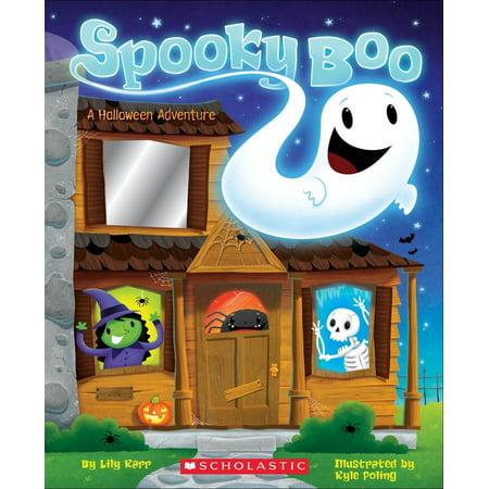 Spooky Photos For Halloween (Spooky Boo! a Halloween Adventure (Board)