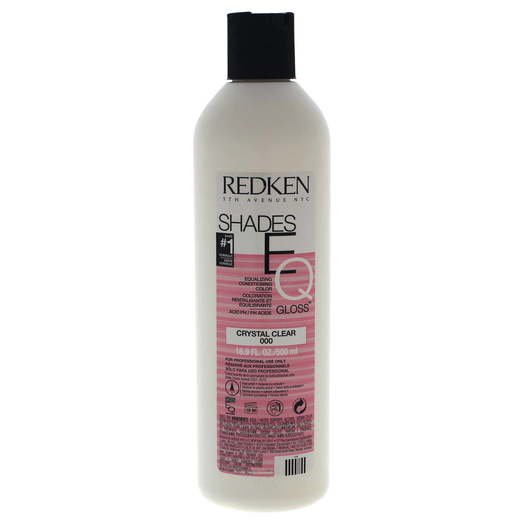 Redken Shades Eq Color Gloss 000 Crystal Clear By Redken 16 9
