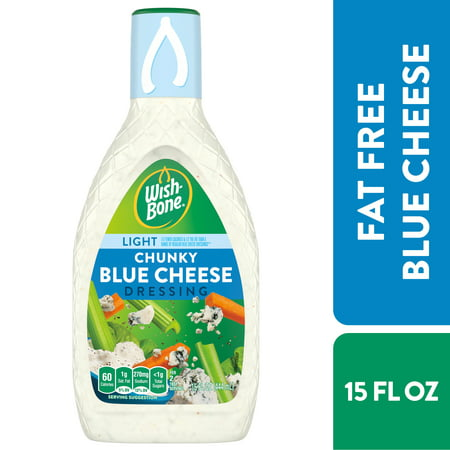Wish-Bone Fat Free Chunky Blue Cheese Dressing, 15 FL OZ