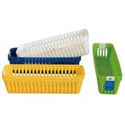 DDI 1334350 Bright 3-Pack Slim Multi Use Baskets Case of 48