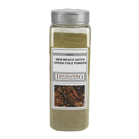Green New Mexico Hatch Chiles Powder, 15 Ounce -