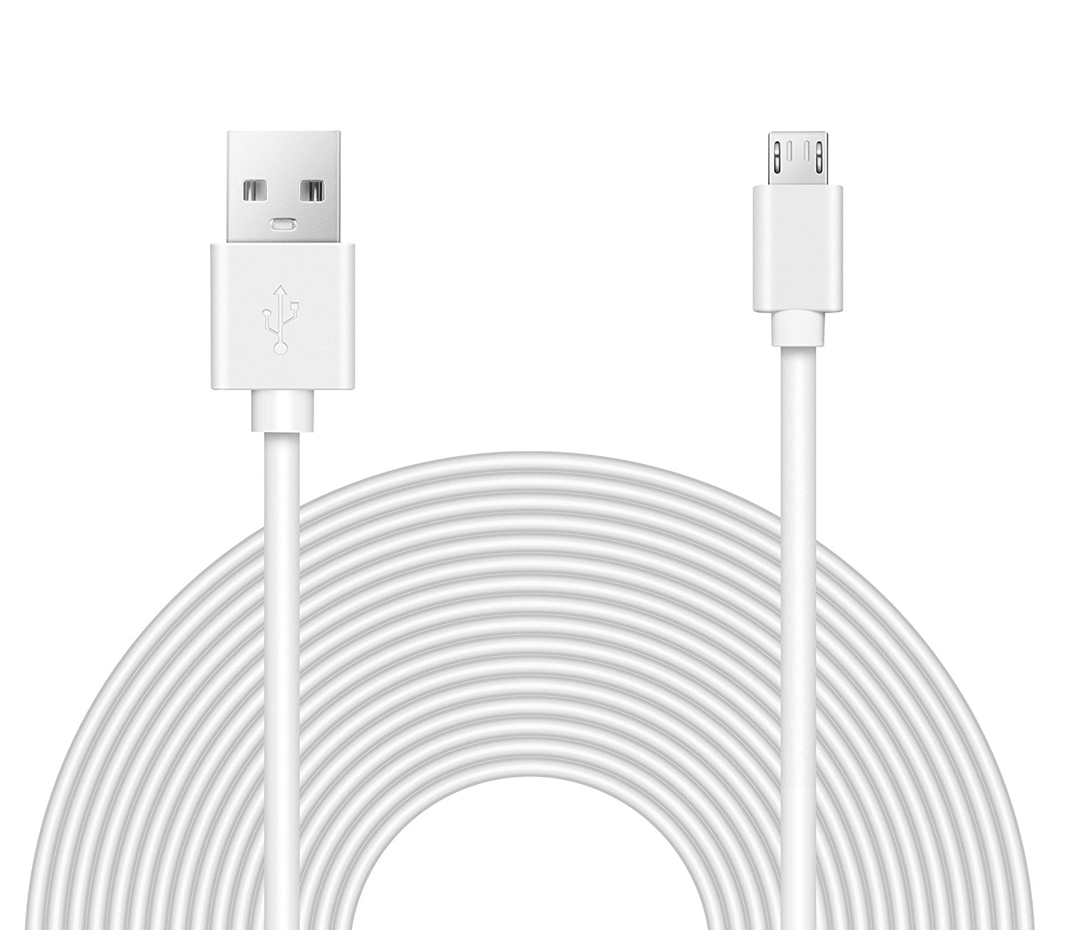 OMNIHIL (32FT) 2.0 High Speed USB Cable for Archos 101 XS 2 10.1 WHITE by OMNIHIL