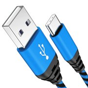6FT USB Type C Cable Fast Charging Cable USB-C Type-C 3.1 Data Sync Charger Cable Cord For Samsung Galaxy S10 S10e S9 S9+ Galaxy S8 S8 Plus Nexus 5X 6P OnePlus 2 3 LG G5 G6 V20 HTC M10 Google Pixel XL