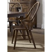 Liberty Furniture Industries Hearthstone Windsor Dining Arm Chair