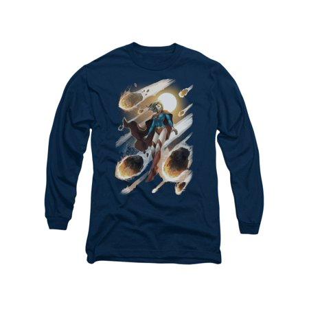 Justice League DC Comics Supergirl #1 Adult Long Sleeve T-Shirt - Supergirl Shirts