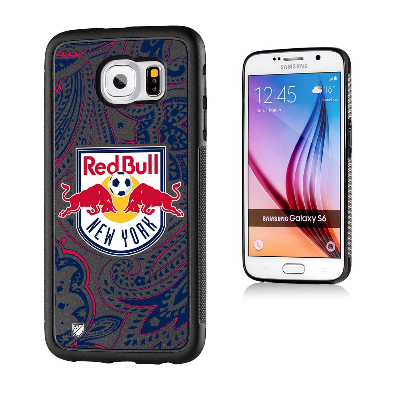 New York Red Bulls Paisley Galaxy S6 Bumper Case