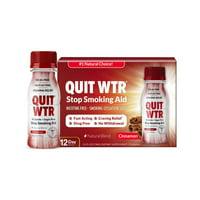 Quit WTR,Cinnamon,Nicotine-Free Smoking Cessation Detox Drink,12pk