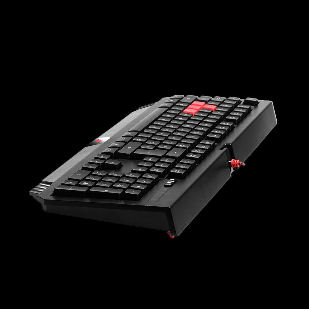 Bloody Gaming B120 Turbo Illuminated Gaming Keyboard - Black