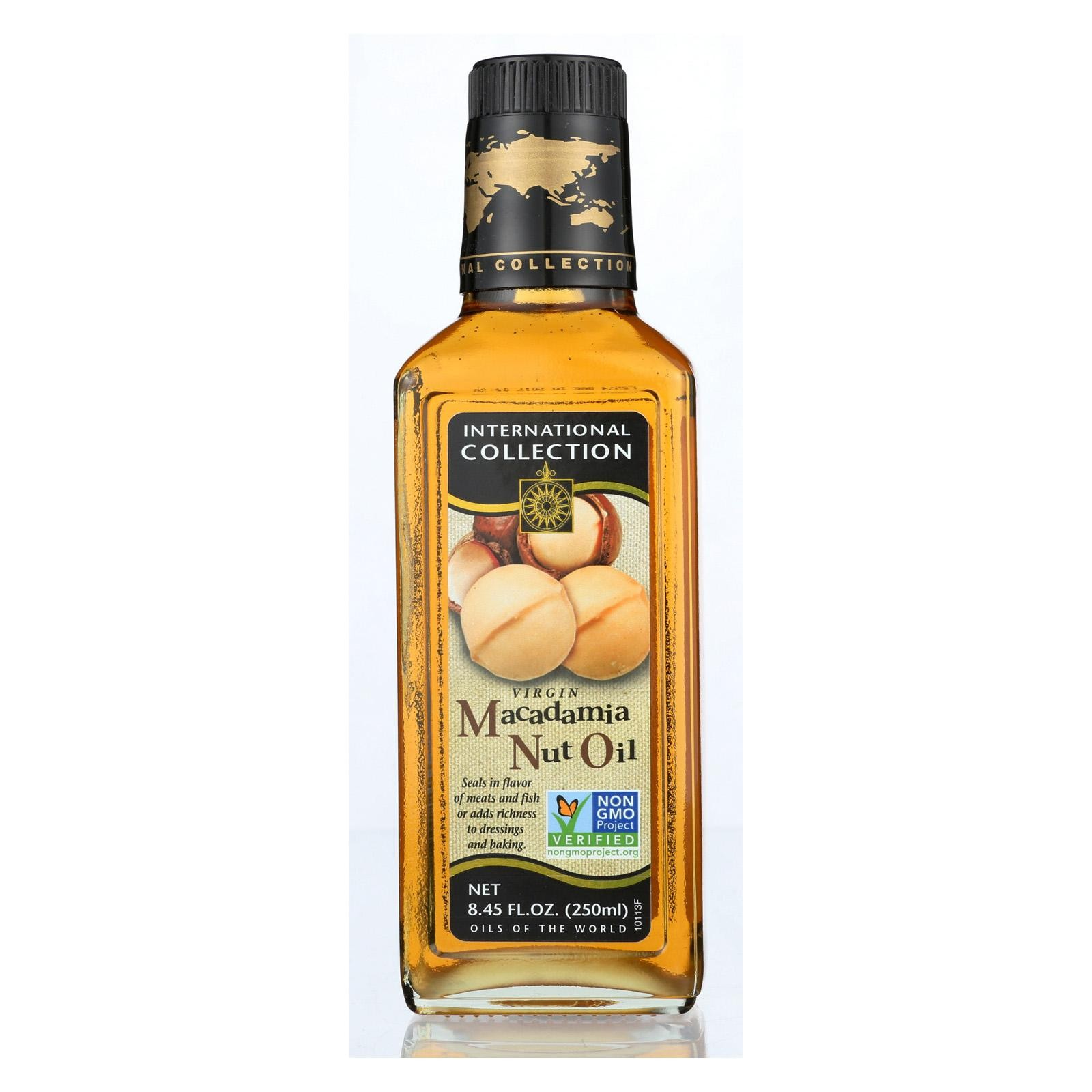 International Collection Oil - Macadamia Nut Oil - Pack of 6 - 8.45 Oz
