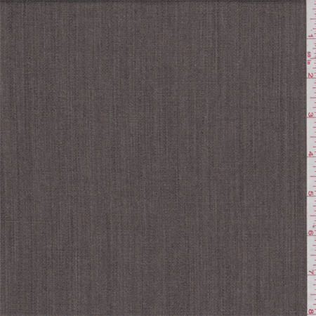 Taupe Brown Wool Suiting, Fabric Sold By the Yard