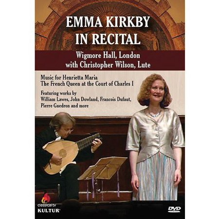 EMMA KIRBY IN RECITAL WITH CHRISTOPHER WILSON AT WIGMORE HALL (DVD) (DVD) for $<!---->