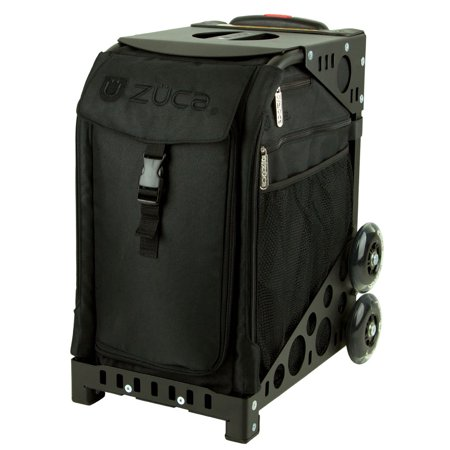 Zuca Sport Bag - STEALTH with Black Frame and Non-Flashing Wheels