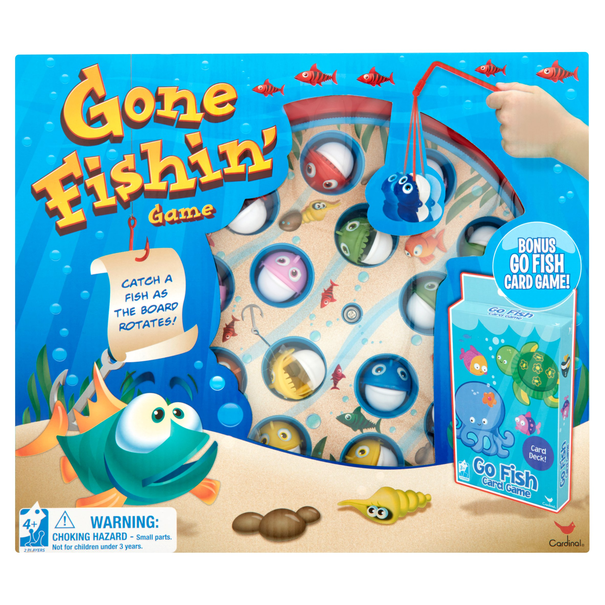 Cardinal Gone Fishin' Game Ages 4+