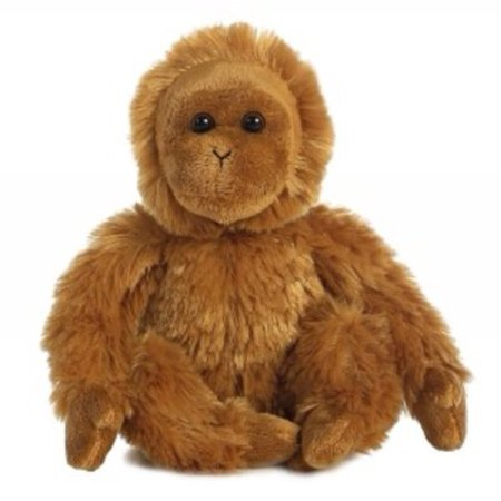 Jupiter Orangutan Mini Flopsie by Aurora - 31709