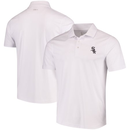 White Drytec Performance Polo (Chicago White Sox CBUK by Cutter & Buck DryTec Fairwood Polo - White)