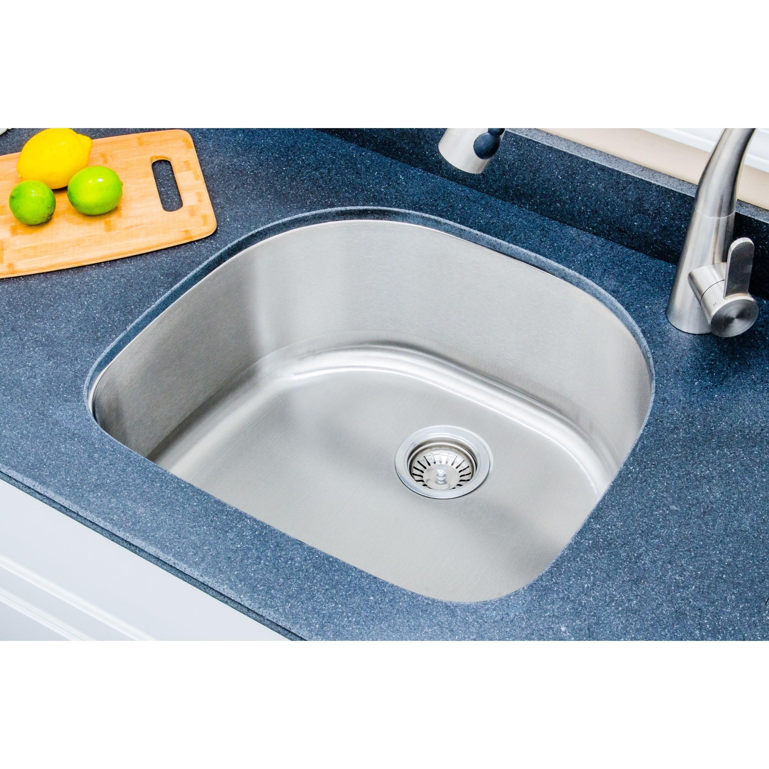 WELLS SINKWARE Craftsmen Series 24\'\' L x 21\'\' W Undermount Kitchen Sink