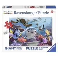 Ravensburger - Disney Pixar Finding Nemo - Nemo Smile 60 Piece Giant Floor Jigsaw Puzzle
