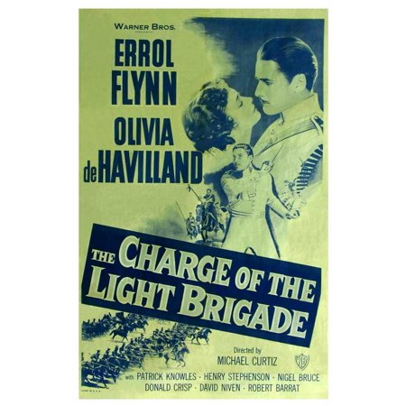The Charge of the Light Brigade - movie POSTER (Style E) (11