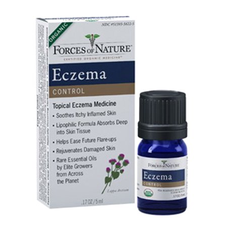 Eczema Control (5 ml) by Forces of Nature (Home Remedies For Dry Itchy Skin For Cats)