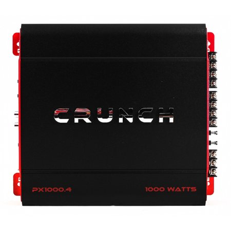 Crunch 4 Channel 1000 Watt Amp A/B Class Car Stereo Amplifier |