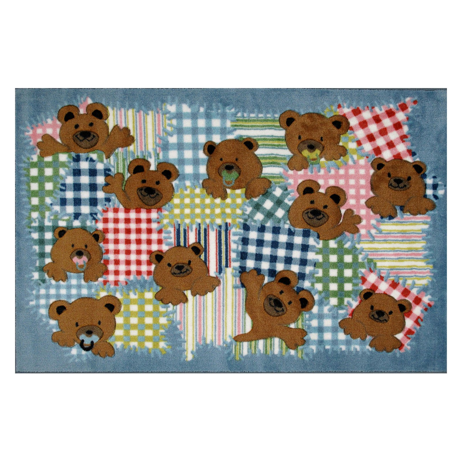 Patches Kids Multicolor Rug