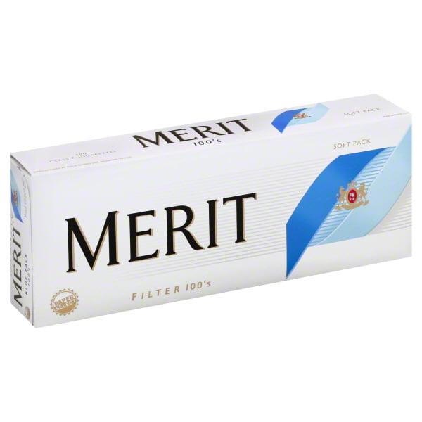 Merit Blue Pack 100 Soft