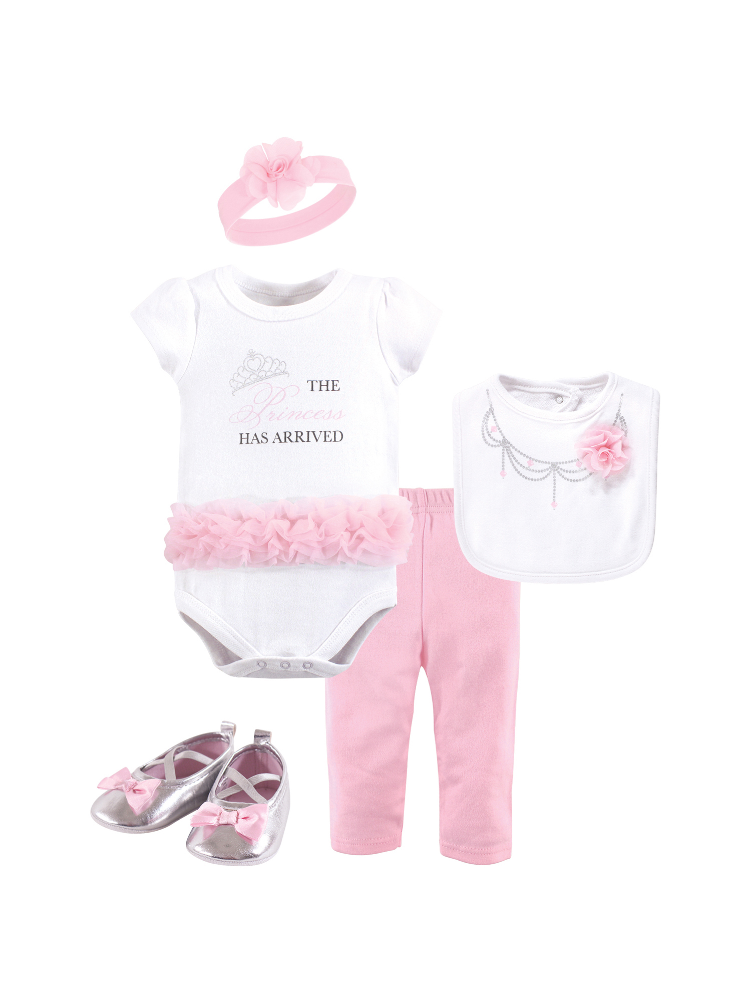 Layette Set 5pc (Baby Girls)