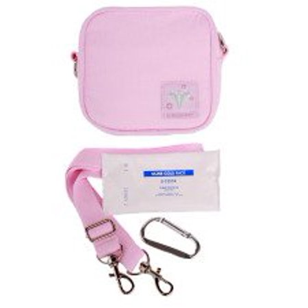 Small Insulated Bag for insulin, snacks, teethers (Pink) (small insulated bag for insulin)
