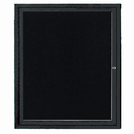 Aarco Products ADC3630BK Enclosed Directory Board - - Indoor Directory Board