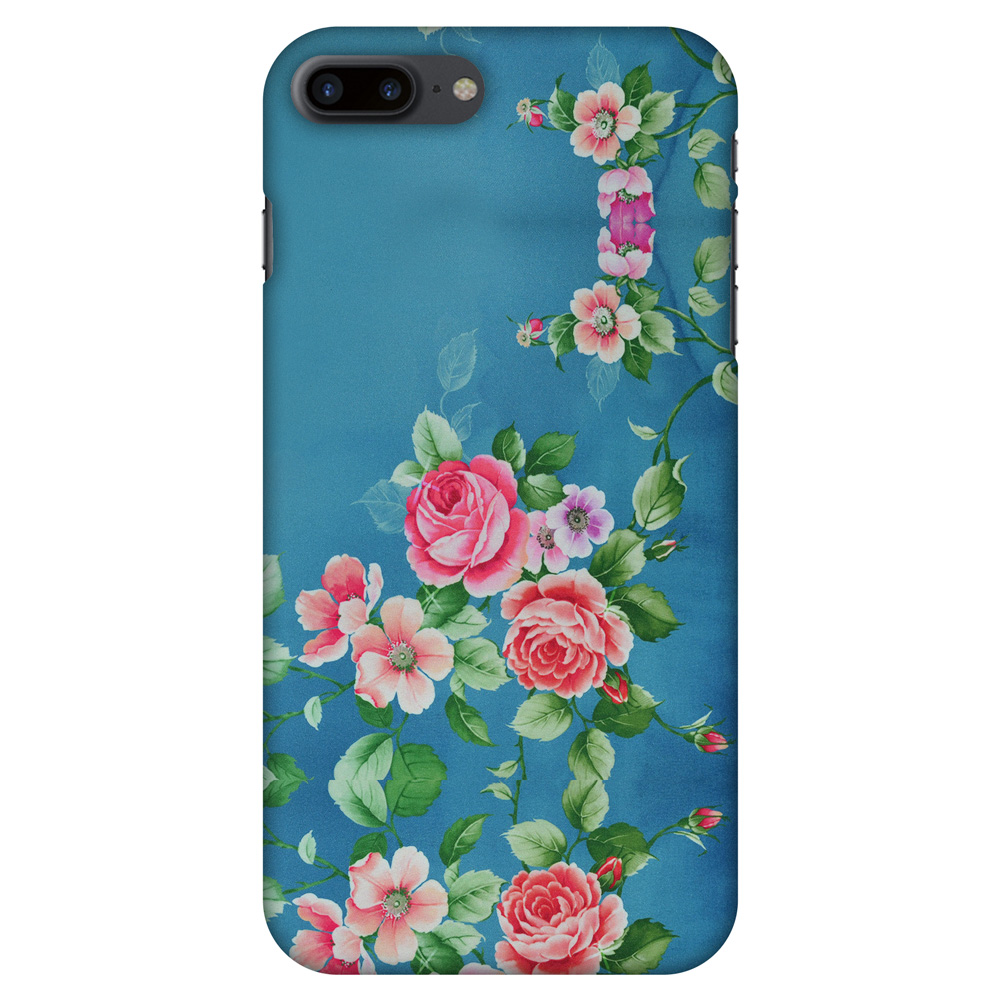 iPhone 7 Plus Designer Case, Premium Handcrafted Printed Designer Hard ShockProof Case Back Cover for iPhone 7 Plus - Rose Print Provencal, 5.5 Inch iPhone 7, HD Color, Soft Finish
