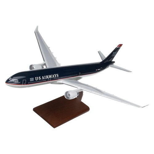 Daron Worldwide Airbus A330-300 US Airways Model Airplane by Toys and Models Corp