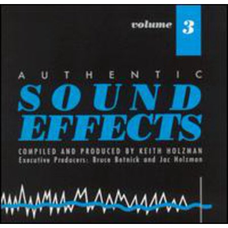 Sound Effects 3 / Various (CD) (Halloween Sounds Effects Cd)