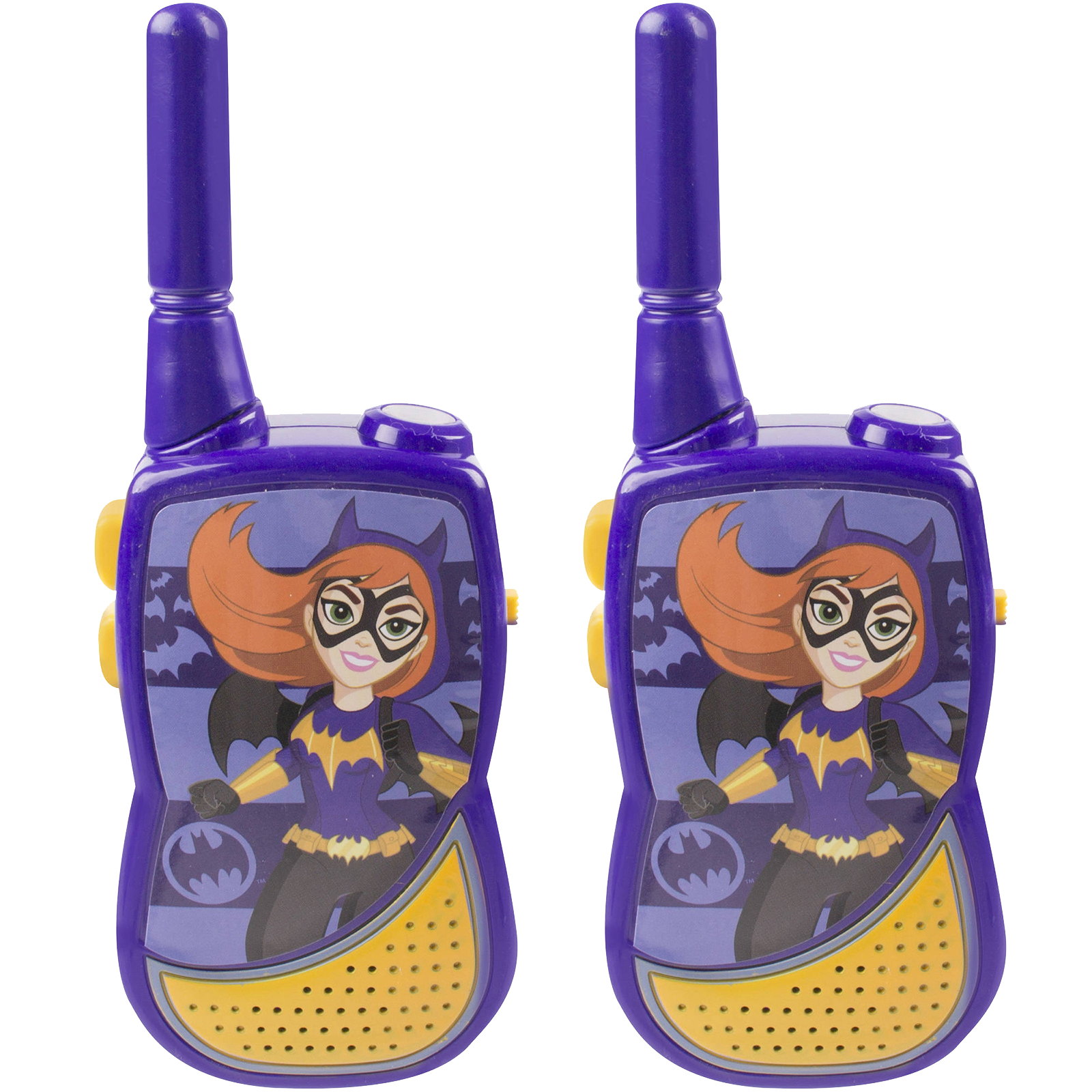 Superhero Girl Night Action 2-in-1 Walkie Talkie with Built-in Flashlight