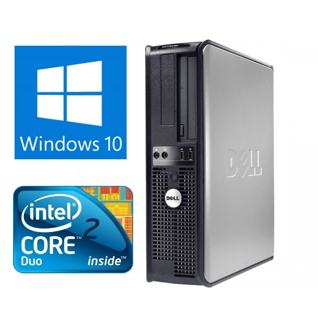 Dell Optiplex 780 Business Desktop Computer PC With Keyboard and Mouse, Windows 10 Professional, Intel Core 2 Duo 3.0GHz Processor, 500GB Hard Drive, 8GB RAM(Certified Refurbished)