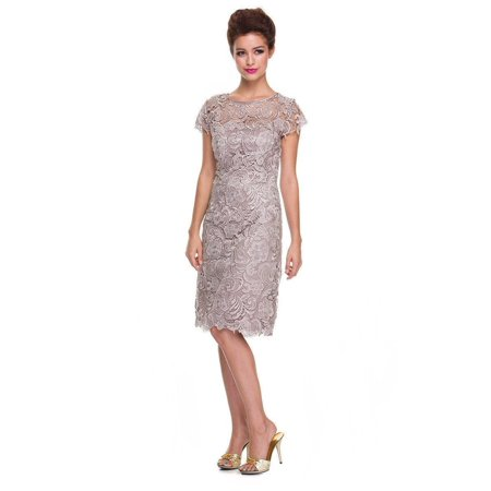Short Plus Size Mother of the Bride Dress 2018