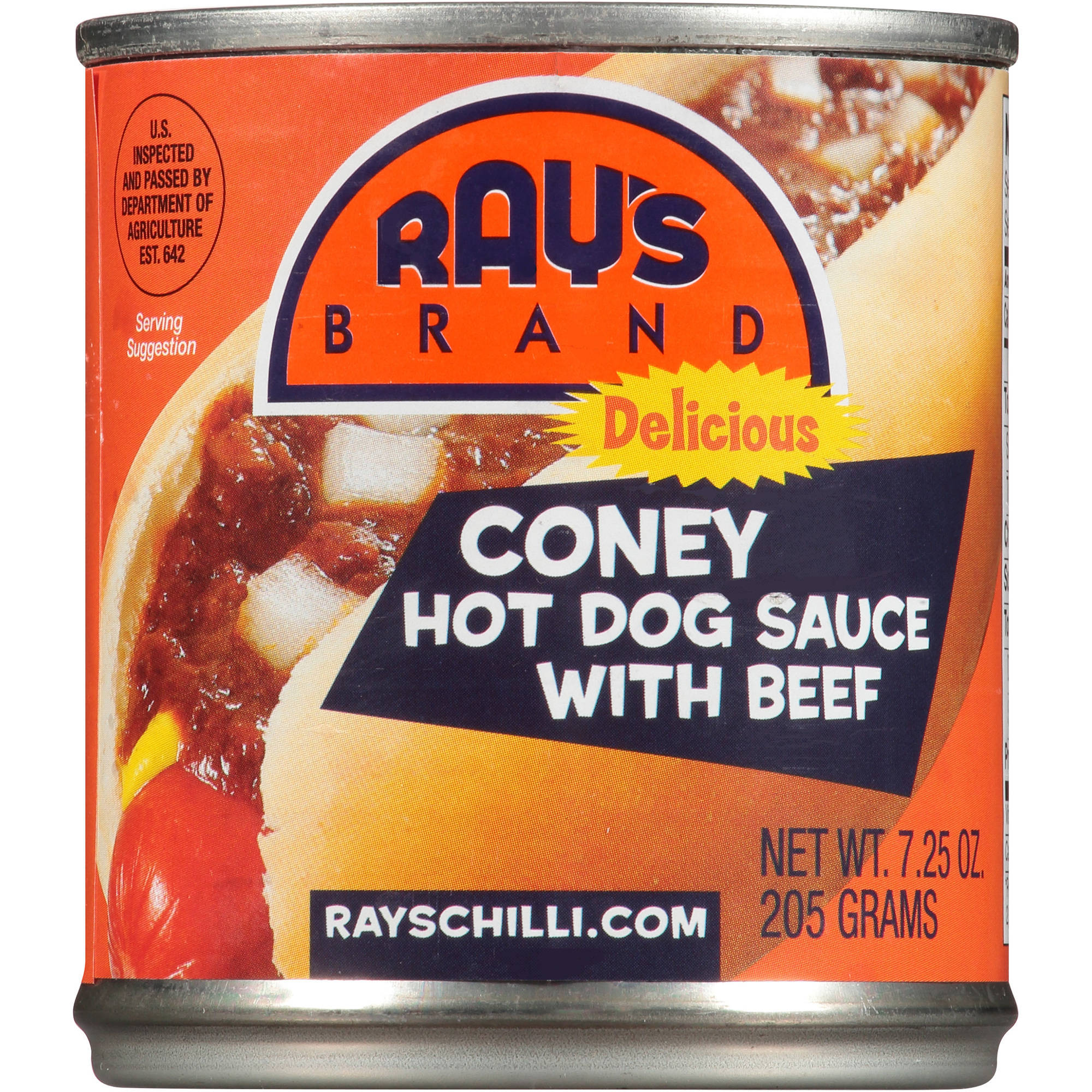 Ray's Brand Coney Island Hot Dog Sauce with Beef, 7.25 oz