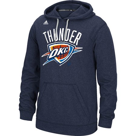 Adidas Oklahoma City Thunder Quick Draw Climawarm Hoodie (Navy) by