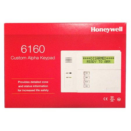 Pack of 2 Honeywell 6160 Custom Alpha Display Keypads