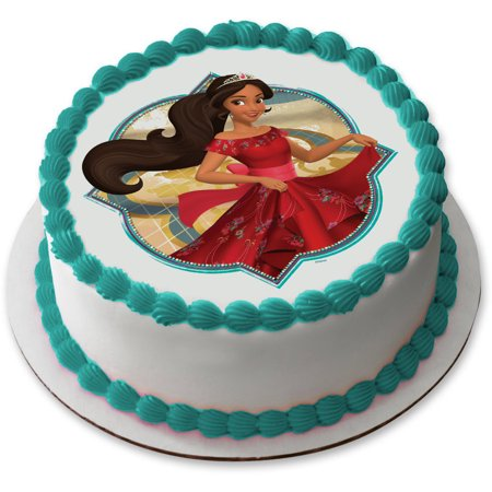 Elena Of Avalor 75 Round Edible Cake Topper Each