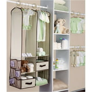 Delta - 24-Piece Nursery Closet Organizer, Choose Your Color