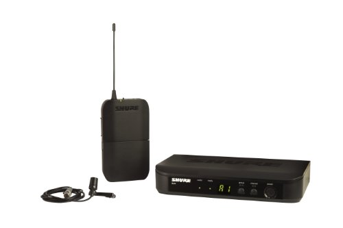 Shure BLX14 CVL Instrument Wireless System with CVL Lavalier Microphone, H8 by Shure