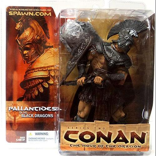 Mcfarlane Pallantides of the Black Dragon Action Figure S...
