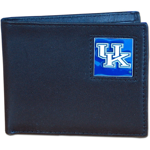 NCAA - Siskiyou - Bi-Fold Leather Wallet - University of Kentucky Wildcats