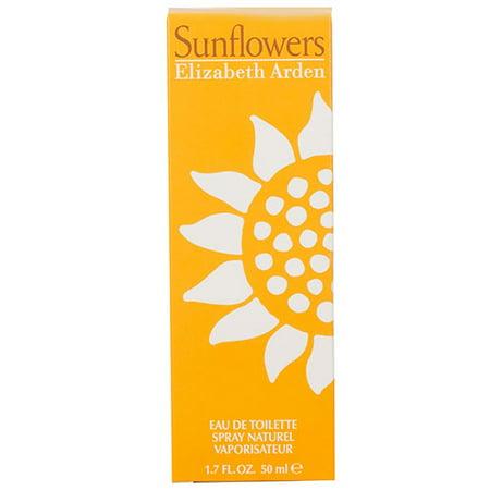 Elizabeth Arden Sunflowers Perfume For Women, 1.7 Oz