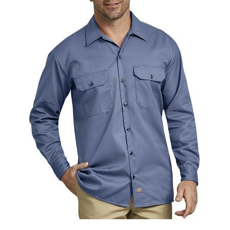 Big Men's Long Sleeve Twill Work Shirt Carhartt Twill Shirt